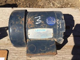 Leeson 1 hp Electric Motor