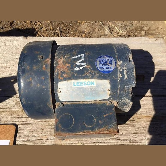 Used 1 Hp 208 230 460v Electric Motor For Sale Leeson