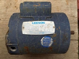 Leeson 1/3 hp Electric Motor