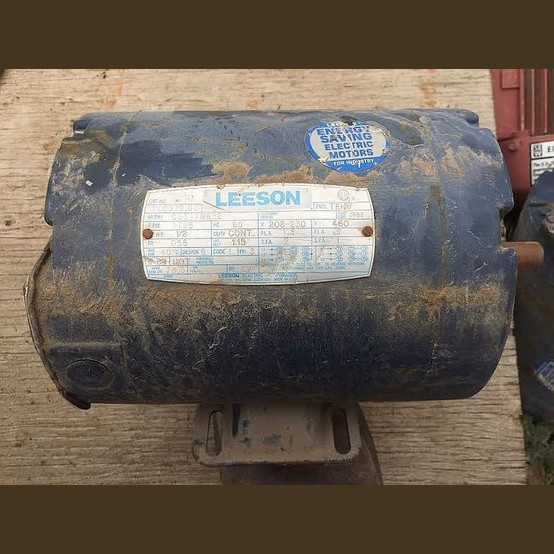 Leeson Electric Motor Supplier Worldwide Used 1 2 Hp 208