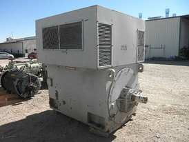 Westinghouse 4500 hp Horizontal Electric Induction Motor