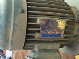 Westinghouse 1 hp Electric Induction Motor