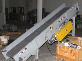 18 in x 115 in Inclined Belt Conveyor