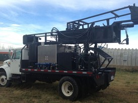Mobile Geothermal Drilling Rig