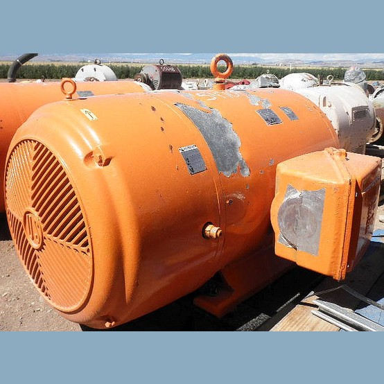 Us Electric Motor Supplier Worldwide Used 250 Hp 460v