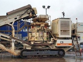 Metso HP300 Mobile Cone Crushing Plant
