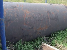 750 Gallon Steel Tank