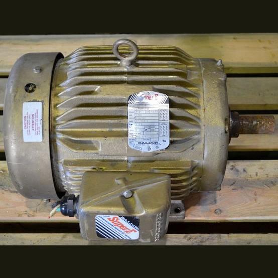 Baldor electric motor supplier worldwide used 7 5 hp 230 for Baldor reliance super e motor