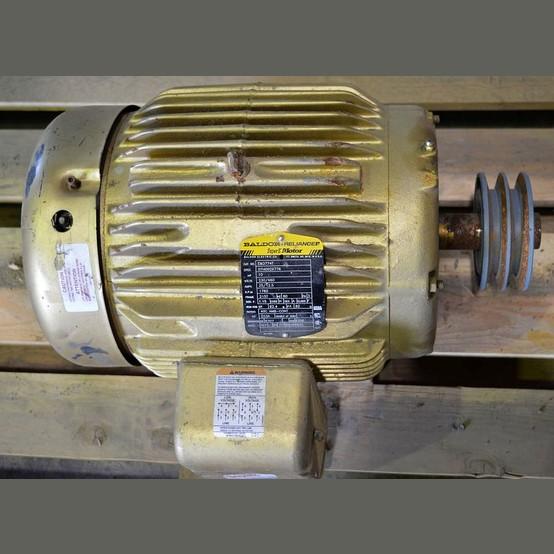 Baldor electric motor supplier worldwide used 10 hp 230 for Baldor reliance super e motor