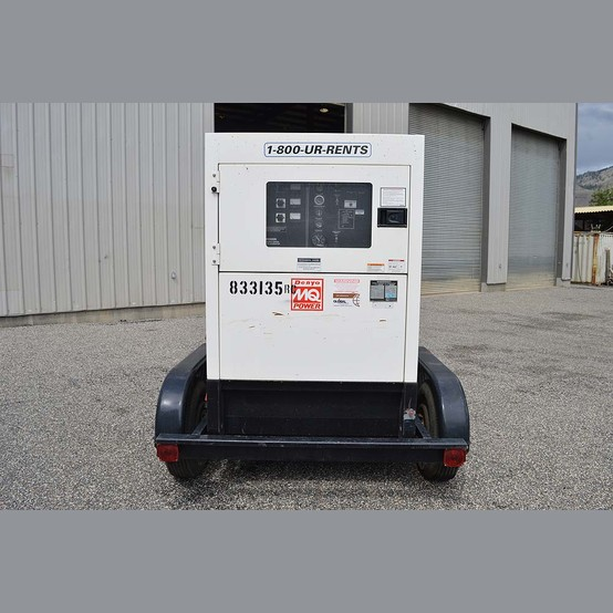 Used 70 kW Trailer Mounted Diesel GenSet For Sale