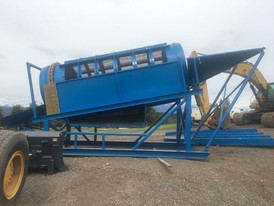 6 ft x 20 ft Trommel Wash Plant