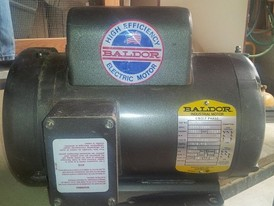 Baldor 1½ hp High Efficiency Electric Motor