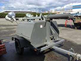 Terex Amida 15 kVA Light Tower