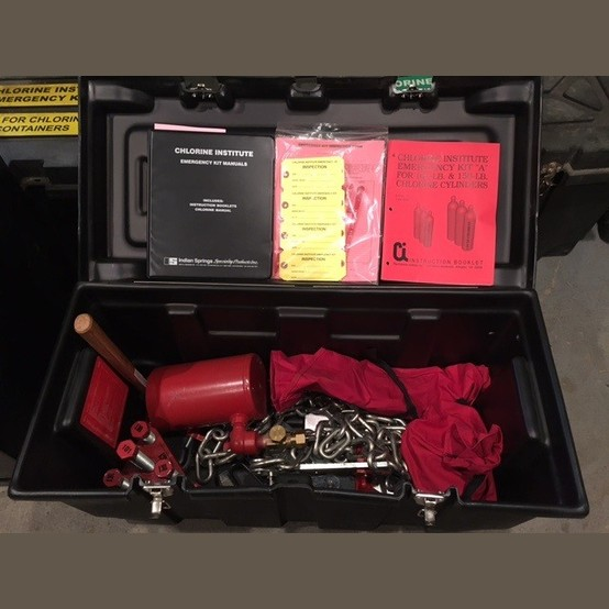 Denver News Gas Leak: Chlorine Institute Cylinder Emergency Kit For Sale