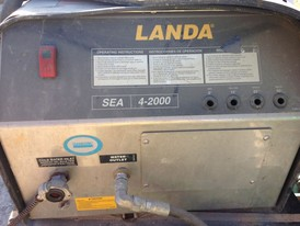 Landa 2000 PSI Hot Water Pressure Washer