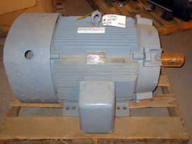 General Electric 75 HP Triclad Induction Motor