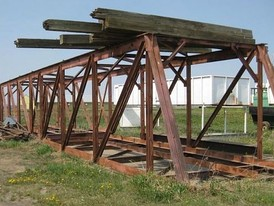 72 ft Steel Truss Bridge