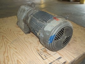 US Motors 5 HP Gearmotor