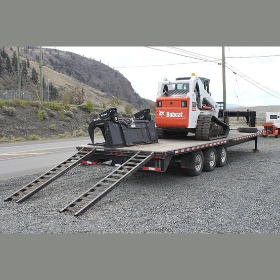 T300 Bobcat Track Loader Trailer Package For Sale T300
