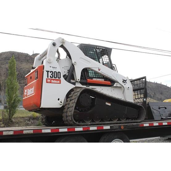T300 Bobcat Track loader/Trailer package for sale   T300