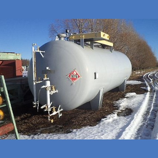 10 000 Gallon Pressure Fuel Tank Supplier Worldwide Used