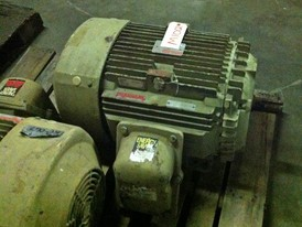 General Electric 40 HP Motor