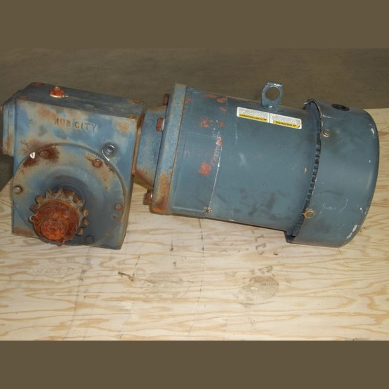 Marathon electric gearmotor supplier worldwide used 3 hp for Used gear motors for sale