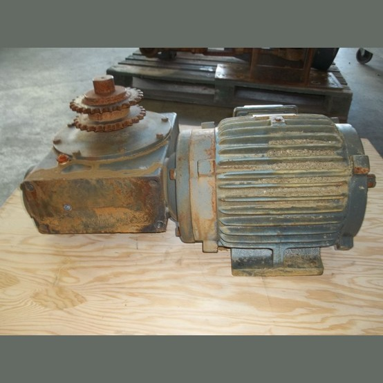 Epact hpe gearmotor supplier worldwide used 7 5 hp for Used gear motors for sale