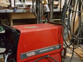 Lincoln Power Mig 350 Welder