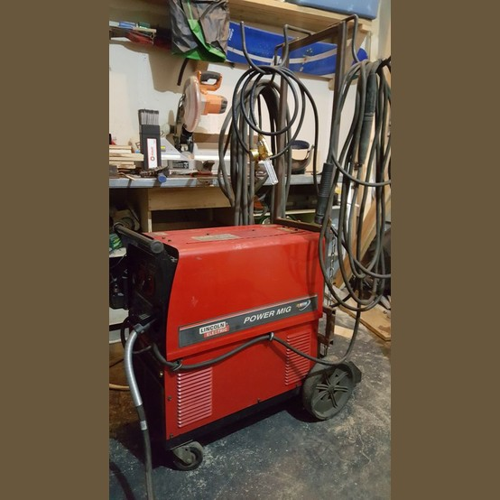 Lincoln Electric Mig Welder >> Used Lincoln Power Mig 350Welder For Sale | Lincoln ...