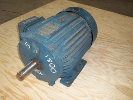 AO Smith 5 HP E-Plus Motor
