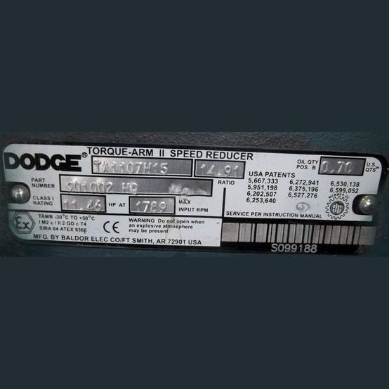 dodge speed reducer manual