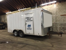 105-13 Confined Space Rescue Trailer