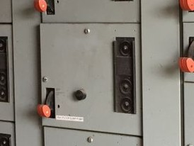General Electric 600 Volt 8000 Line MCC Section