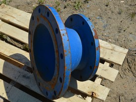 12 in x 8 in Reducer Flange