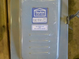 Taylor Electric 100 Amp Disconnect