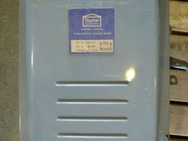 Taylor Electric 200 Amp Disconnect