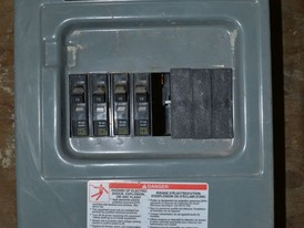 Square D 100 Amp Breaker Panel