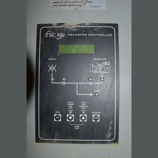Used 100 Amp Transfer Switch For Sale Thompson