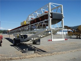 Superior 36 in x 100 ft PRSC Stacking Conveyor
