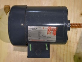 Brook Crompton 1 HP Motor