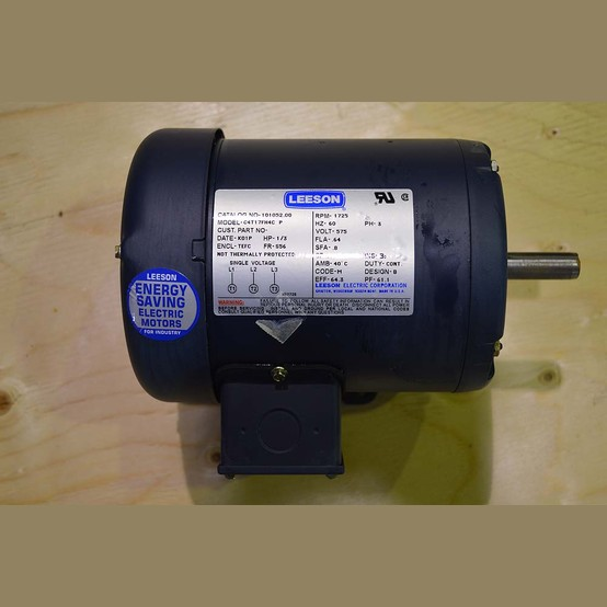 Leeson Electric Motor Wholesale Supplier Used 1 3 Hp