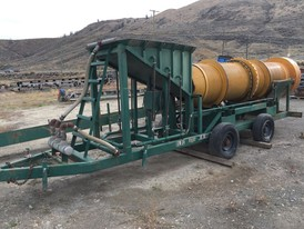 3 ft x 14 ft Trommel Wash Plant
