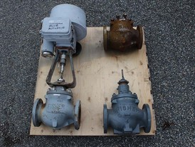 Fisher 4 in Gate Valve Package