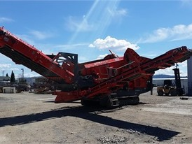 Terex Finlay 883 Track Jaw Screen Plant