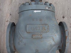 Fisher 8 in Control Valve