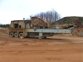 Cedarapids 3042 Crushing Plant