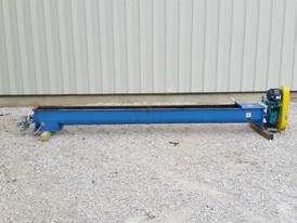 9 in x 12 ft long Screw Conveyor