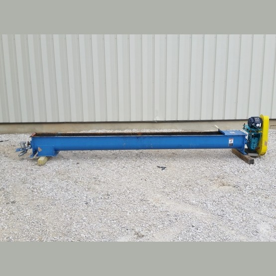 Used 9 In X 12 Ft Screw Conveyor For Sale Auger Supplier