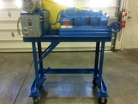 Sturtevant 8 x 5 Portable Roll Crusher